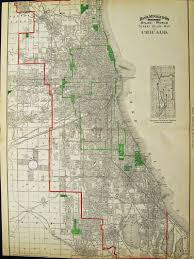 Chicago Il Map by Prints Old U0026 Rare Chicago Il Page