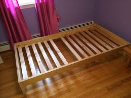 Low Platform Bed Diy by Platform Twin Bed Frame Platform Bed Bed Frame Four Post Platform