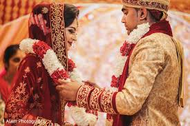 Wedding Images Indian And Groom Jai Mala Ceremony In Mississauga On Indian
