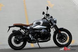 bmw motorcycle scrambler 2017 bmw r ninet scrambler bike review