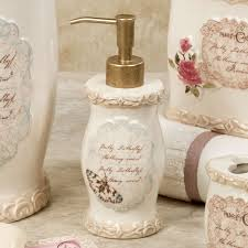 Lotion Dispenser Butterfly Moments Bath Accessories From Chapel Hill By Croscill