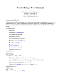 Examples Of General Resume Objectives by General Resume Examples Uxhandy Com