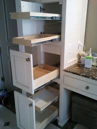 Kitchen Pull Out Cabinet by Bathroom Cabinets Under Cabinet Organizer Roll Out Cabinet