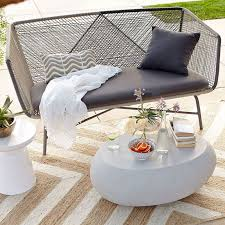 White Patio Furniture Modern Patio Furniture That Brings The Indoors Outside Freshome