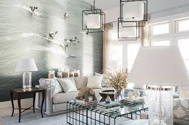 living room rectangle dining combo with ideas blue white stripped living room and dining decorating ideas design hgtv 13 coastal cool rooms were ready to call