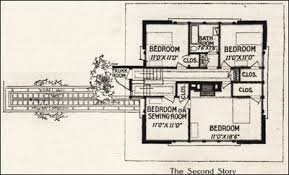 frank lloyd wright style house plans a fireproof house for 5000 frank lloyd wright 1907