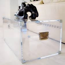 coffee tables simple acrylic coffee table cube and glass for