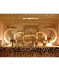 Beautiful Wedding Stage Decoration Wedding Stage Flower Decoration In Coimbatore India