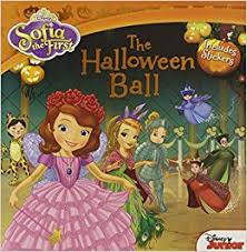 sofia halloween ball includes stickers disney book