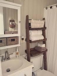 small bathroom storage ideas the toilet ladder shelf choose finish bathroom rustic shelf