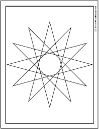 Geometric Designs 70 Geometric Coloring Pages To Print And Customize