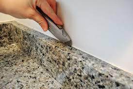 how to caulk a sink backsplash granite countertop caulk backsplash cutting top portrayal wonderful