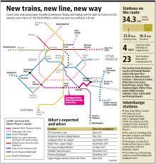 Metro Blue Line Map Delhi by Noida Kalkaji Delhi Metro Link To Open In June Cut Travel Time By
