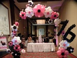sweet 16 party decorations sweet 16 party decoration superb 16th birthday party decorations
