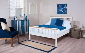 silentnight minerve wooden bed frame mattress online