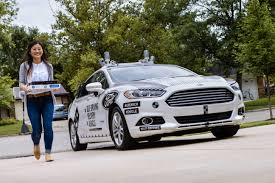 cars ford 2017 ford and domino u0027s to deliver pizza using self driving cars in new