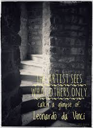 leonardo da vinci quote about learning photography quote my pure view