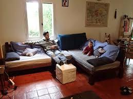 faire un canapé diy un canapé convertible le matelas les canapés et