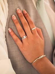 Wedding Ring Finger by 10 Modern French Manicure Ideas For Your Wedding Day