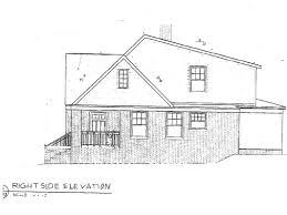 side elevation right side elevation vision pointe homes