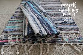 Diy Runner Rug 9 Knockoff Diy Chindi Rug Hallway Runner Farmhouse Made
