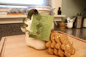 Cookie Mix In A Jar Christmas Gifts Gingerbread Cookie Mix In A Jar