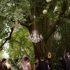 Fabulous Chandeliers Loved Styling This Outdoor Ceremony With These Fabulous