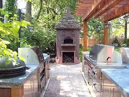 Backyard Kitchen Design Ideas 144 Best Outdoor Kitchen Images On Pinterest Outdoor Kitchens
