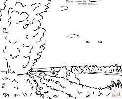 hill path by alfred sisley coloring page free printable coloring