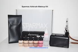 sparmax airbrush makeup kit pro u2013 airmakeup pro