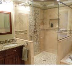 travertine bathroom designs travertine tile shower on bottom then accent liner then
