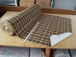 Upholstery Supplies Canada Westfalia Plaid Upholstery Material Sold Per Meter Gowesty