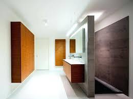holzmöbel badezimmer holzmobel badezimmer modern einrichten offene dusche beton