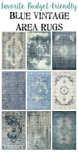 Area Rugs Blue Favorite Budget Friendly Blue Vintage Rugs Bless Er House