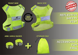Safety Clothing Near Me Amazon Com No 1 Reflective Running Vest Gear Your Best Choice