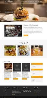 themes wordpress restaurant free free restaurant wordpress theme for bistro food and cuisines skt them