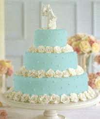 3 round tier tiffany blue cake with white roses tiffany blue vow