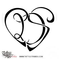 tattoo of c d s heart union bond tattoo custom tattoo designs