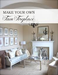 How To Make Fake Fireplace by Ana White Home Is Where The Hearth Is Faux Fireplace Diy