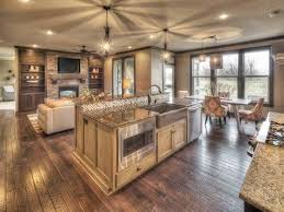 open country floor plans rustic kitchen house plans home deco plans