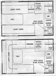 20 Foot Travel Trailer Floor Plans Shasta Compact Floor Plan Good Stuff Amateur Radio Teardrop