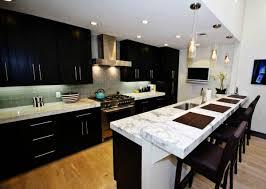 awesome image of kitchen backsplash ideas with dark cabinet of