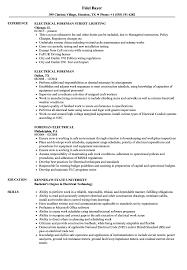resume format administrative officers exams 4 driving lights electrical foreman resume sles velvet jobs
