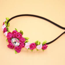 decorative headbands shop flower girl wreaths on wanelo
