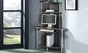 Corner Hideaway Computer Desk Corner Computer Desk Uk Hideaway Solid Wood Tandemdesigns Co