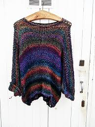 multicolor sweater monaco pinterest etsy knit patterns and