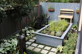 Backyard Bench Ideas Garden Bench Ideas Landscape Modern With Commercial Herb Garden