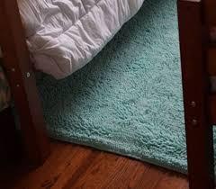 4 X 6 Area Rugs Chenille Area Rug Bleached Aqua Cute College Rugs Dorm Decor
