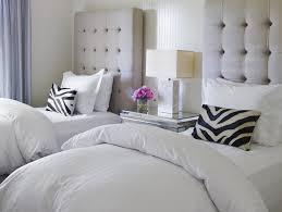 bedroom luxury tall tufted headboard transitional bedroom