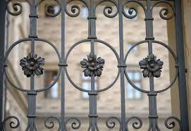 Decorative Iron Railing Panels Railing Repairs Metal Fabrication London